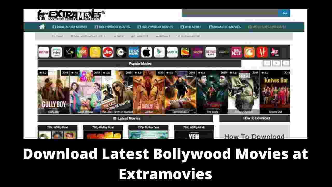 Download Latest bollywood movies at Extramovies