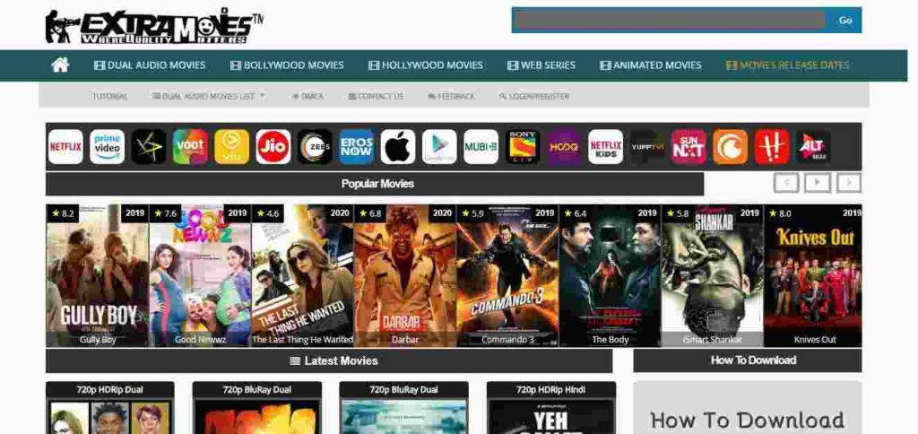 Extramovies 2020 in hindi movies download